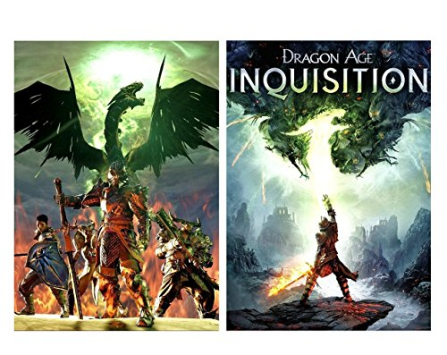 Set of 2 Dragon Age Inquisition Posters (Inquisition Merchandise compare prices)