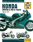 Honda VFR750 and 700 V-Fours 1986 Thr...