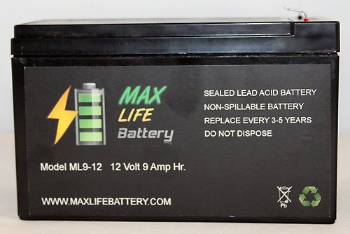 12V 9Ah Sla Battery For Emergency Lighting Equipment And Atvs