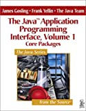 Core Packages (The Java(TM) Application Programming Interface, Volume 1) (0201634538) by Gosling, James