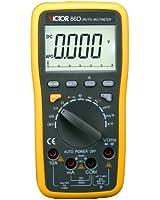 VICTOR 86D Multimètre numérique Auto Gamme voltmètre ampèremètre ohmmètre Testeur Mesureur électrique LCD écran Interface RS232