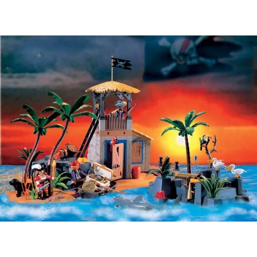 Amazon.com: Playmobil 3938 Pirate Lagoon and Jail,