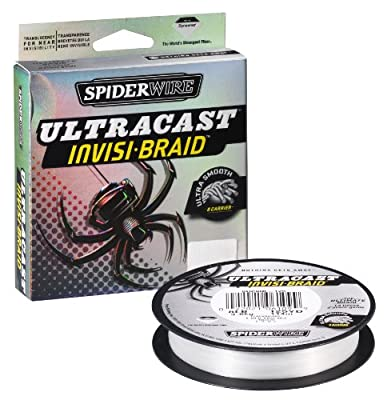 Spiderwire Ultracast Fishing Line 50-pound Test 125-yard Spool Clear by Big Rock Sports