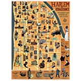 Harlem Renaissance Culture Guide Map Poster