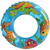 Intex 59242NP - Schwimmring, Durchmesser 61 cm, transparent
