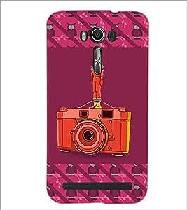 PrintDhaba Cute Girl D-3260 Back Case Cover for ASUS ZENFONE 2 LASER ZE550KL (Multi-Coloured)
