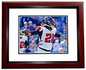 Desmond Trufant Autographed Hand Signed Atlanta Falcons 8x10 Photo MAHOGANY CUSTOM... by Real Deal Memorabilia