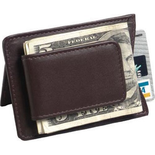Winn-Harness-Leather-Magnetic-Money-Clip-with-ID-Window-Card-Slots