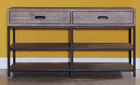 Entertainment Console in Sandlewood