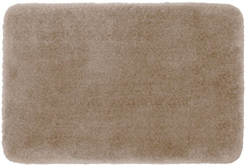 TruSoft By STAINMASTER Luxurious Bath Rug, 17-By-24 Inch, Linen