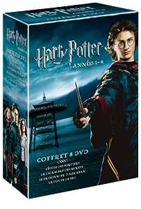 Coffret Harry Potter - L'intégrale 8 DVD - Années 1 à 4
