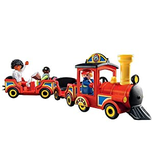 Amazon.com: Playmobil Childrens Train for 18 months and up: Toys