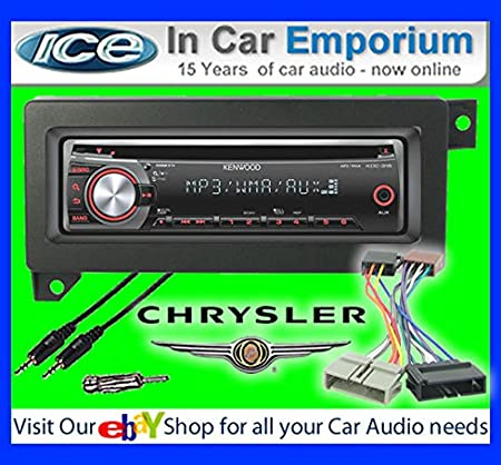 Chrysler 300C Autoradio CD MP3 radio play Clarion, iPod, iPhone, Android