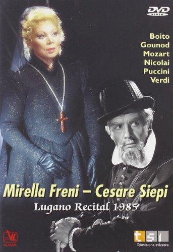 Freni - Siepi Lugano Recital 1985 [DVD]