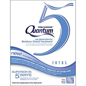Zotos Quantum 5 Firm Choices Alkaline Perm - One Application