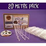 Defender Narrow Plastic Bird and Pigeon Spikes - 20 Metre Pack