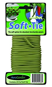 AeroGarden 970175-000 970175-0000 Soft Tie for Garden Plant Support, 25-feet (Discontinued by Manufacturer)
