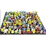 CNFT Pokemon Action Figures, 144-Piece, 2-3 cm