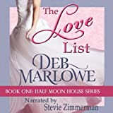img - for The Love List: Half Moon House, Book 1 book / textbook / text book