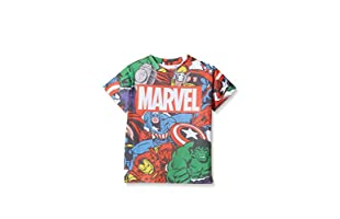 MARVEL Camiseta Manga Corta Group (Multicolor)