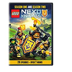 Lego Nexo Knights:Season 1 and 2