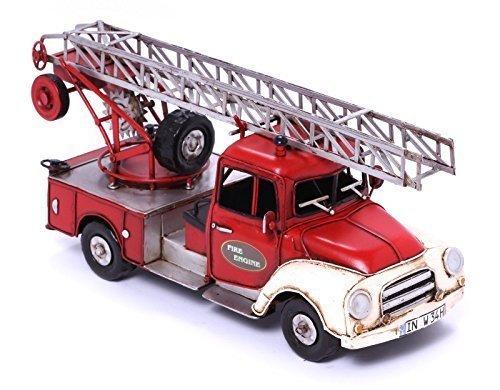 Model Car - Fire Truck Opel Blitz - Retro Tin Model