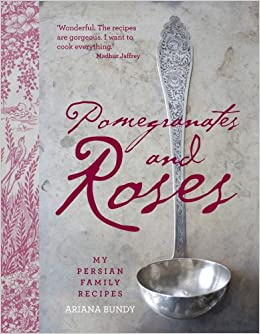 Pomegranates and Roses book cover.