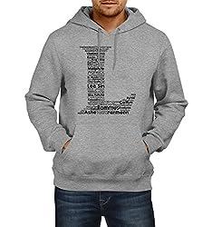 Fanideaz Men's Cotton L for League of Legends Hoodies For Men (Premium Sweatshirt)_Grey Melange_L