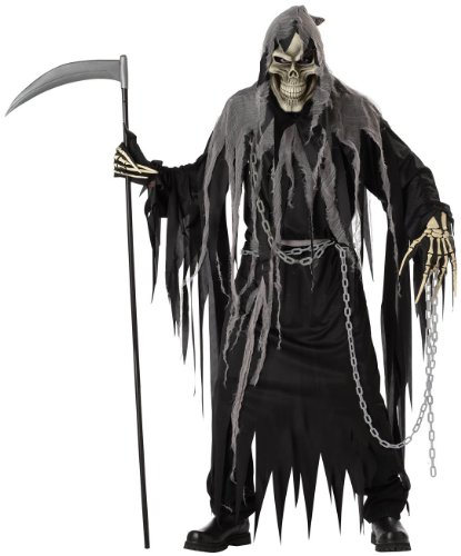 California Costume Collection - Mr. Grim Horror Robe Adult Costume