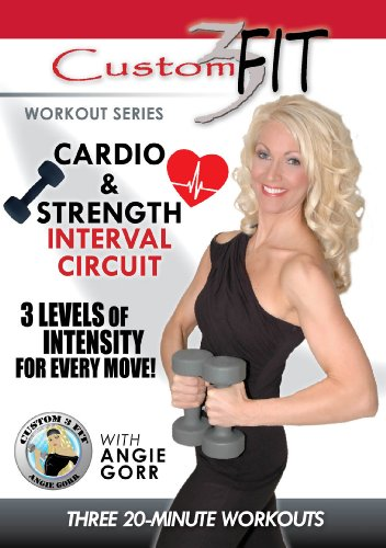 Cardio And Strength Interval Circuit Workout Dvd With Angie Gorr