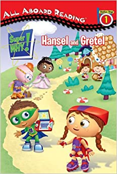 Super WHY!: Hansel and Gretel by Samantha Brooke (2009, Hardcover)