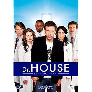 Amazon.co.jp: Dr. HOUSE / ドクター ・ ハウス シーズン1 DVD-BOX1 ...
