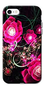 DigiPrints High Quality Printed Designer Soft Silicon Case Cover For Apple iPhone 7