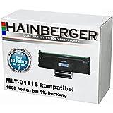 Hainberger XXL Toner MLT-D111S schwarz, 1500 Seiten (+50%!) bei 5% Deckung, kompatibel für Samsung MLT-D111S/ELS für Samsung Xpress M 2000 Series, M 2020, M 2020 W, M 2021, M 2021 W, M 2022, M 2022 W, M 2070, M 2070 F, M 2070 FW, M 2070 W, M 2071 FH, M 2071 FW, M 2071 HW, M 2071 W