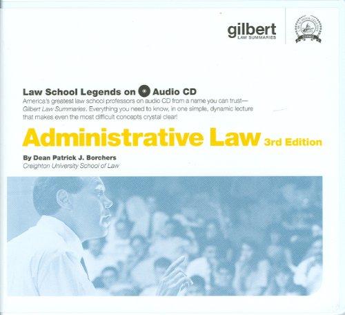 Administrative Law (Law School Legends Audio Series)