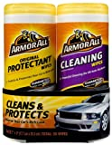 ArmorAll 10848 Protectant/Cleaning Wipes 2pk.