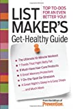 Preventions Magazine List Maker's Get-Healthy Guide