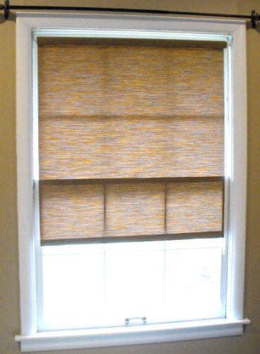 Bantu Woven Window Roller Shades, 29 x 60, Free Shipping
