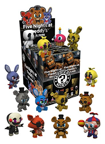 Five Nights at Freddy's Mystery Mini Figures 6 cm Display (12) Funko