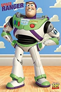 Amazon.com - Toy Story - Movie Poster (Buzz Lightyear, Space Ranger
