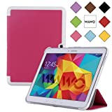 WAWO Samsung Galaxy Tab 4 10.1 Inch Tablet Smart Cover Creative Fold Case - Pink
