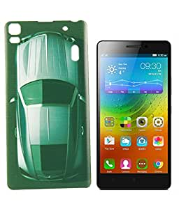 Exclusive Hard Back Case Cover For Lenovo A7000/K3 Note - Car