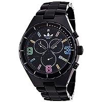 Adidas Originals Unisex 44mm Multi-Colour Dial Black Cambridge Chronograph Watch - ADH2519