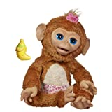 Fur Real Friends Cuddles My Giggly Monkey Pet Plush