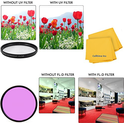 77Mm All Purpose Fluorescent (Fld) Multi-Coated Uv Filter And Uv Protective All-Purpose Filter Combo For Pentax Smcp-Da* 200Mm F/2.8 Ed (If) Sdm And Pentax Zoom Super Wide-Telephoto Smcp-Da* 16-50Mm F/2.8 Ed Al (If) Sdm Lenses + Ct Microfiber Cleaning Clo