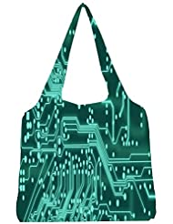 Snoogg Digital Board 2409 Womens Jhola Shape Tote Bag