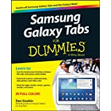 Samsung Galaxy Tabs For Dummies by Dan Gookin  (Dec 18, 2013)