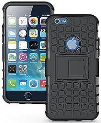 Delkart Hard Armor Design Kick Stand Cover For Apple I phone 4/4s/4g