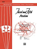 3rd And 5th Position String Builder: For Violin