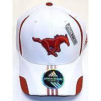 Southern Methodist Mustangs Player Flex Adidas HAT - Size L/XL - TQ77Z
